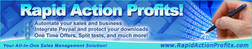Rapid Action Profits  :: Instant Affiliate Commissions